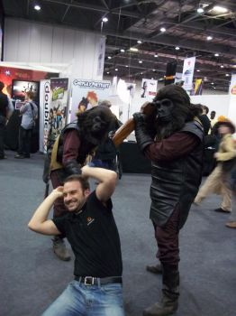 Planet of the Apes - MCM Expo by DarknessRavyn