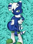 Meowstic Male Sonic Version by DarkrexS