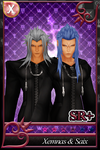 {Request} [KHX Card] - Xemnas and Saix by Kingdom-Hearts-Realm