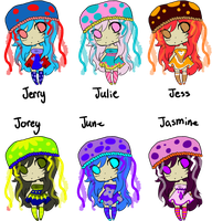 Jellyfish Hat Adopts 1: CLOSED by SweetieBatch