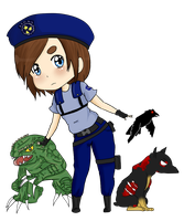 +-+Re1-Jill Valentine+-+ by ShadowDark1