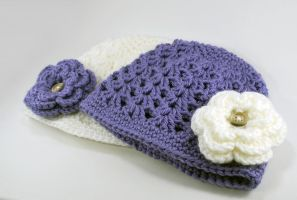 Baby Hats- Better Picture by craftyhanako