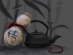 Chinese gourd by DawnFrost