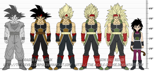 DBR Bardock, Gine v3 by The-Devils-Corpse