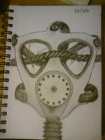 Gas Mask doodle.... by Danny7293
