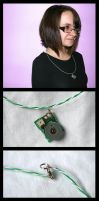 Recycled Volume Tech-Geek Neck by GeneveveX