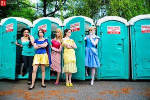 Sakura2010 - Disney Princesses by TheDreamerWorld