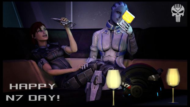 Happy N7 Day! by Blackcell8