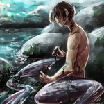 Mermaid Boy by D-Kitsune