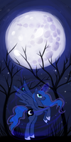 :MLP: Night Princess by lady-largo