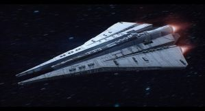 Kuat Drive Yards Thrawn-class Star Destroyer by Shoguneagle