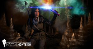 Rise of the Tomb Raider - Exploring the Cave by MartimMonteiro