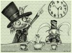 Mad Hatter's Tea Party by boegeob