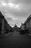 Vatican city in Rome by stevegek