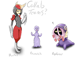 Collab Teams by Eve-Of-Halloween