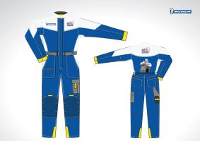 michelin dealer uniform by gezl