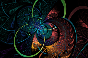 Sewing with Fractals by riverfox1