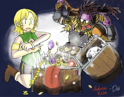 YOU OPENED THE TREASURE CHEST by HakuryuVision