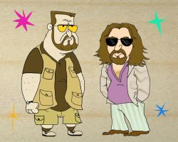 The Big Lebowski by Makinita
