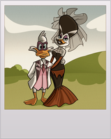Darkwing Wedding V2 by StevenRayBrown