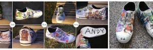 Toy Story fan art Sneakers by RamenCartel