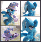 Trixe - Handame Plushie by Piquipauparro