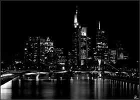 Frankfurt - Skyline at night by Denis90