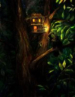 Tree House: 1.Unexpected Guest by Anastasia-N