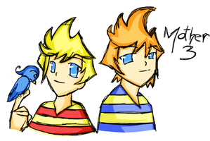 Lucas and Claus by Klondiked
