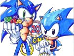 sonic 20th colored by trunks24