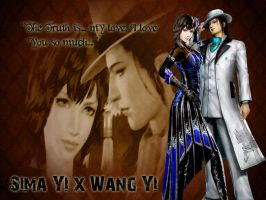 Sima Yi x Wang Yi by Grace-Zed