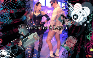 Veronica and Logan wallpaper by Ishily