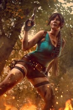 Lara Croft jungle-Tomb Raider III by SCARLET-COSPLAY