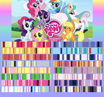 My Little Pony Gradient Pack by EternalNight11