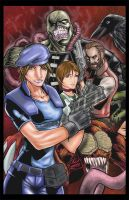 Resident Evil Part A colored by hanzozuken
