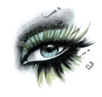 aguilera's eye by jullia-jullia