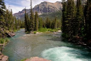 A view of Glacier Nat Park by MikeysPhotos