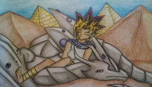 Sleeping Atem and Malassa Request by WithinATragedy