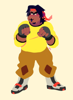 Hunk,,,, by megadinkloid