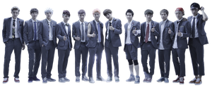 EXO png [render] by Sellscarol