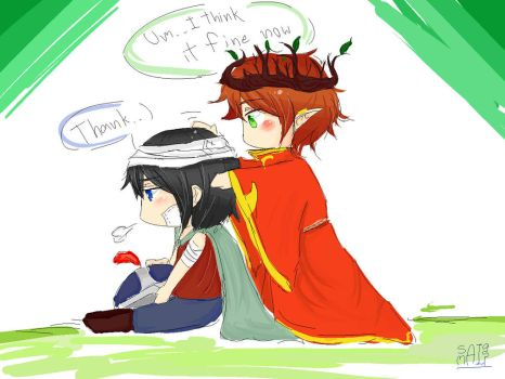 [South Park] Stan and Kyle (The Stick Of Truth) by saimai951