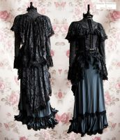 Dark victorian ensemble, Somnia Romantica by SomniaRomantica
