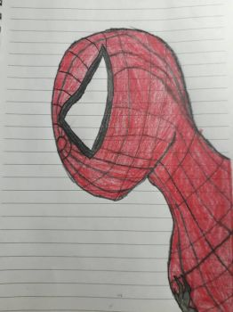 Spiderman Drawing! X3 by shermanyeo