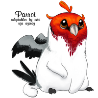 Red-Crested Cardinal parrot - Custom by rice-chex