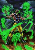 Shang Tsung Undead by MatiasSoto