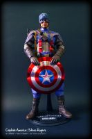 Hot Toys - CAPTAIN AMERICA 1 by jaysquall