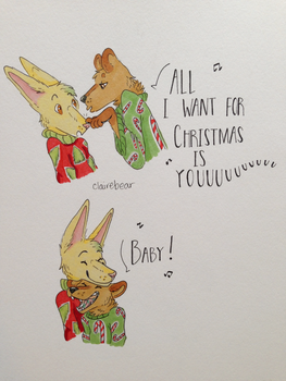 All I want for Christmas by Straw-Bear