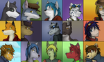 Icon Spreadsheet by Hipster-Coyote