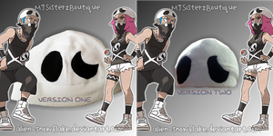 Pokemon Team Skull Grunt Fleece Beanie Hat Cosplay by Alien-Snowflake