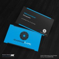 Photographer Business Card and logo Design by MarwanZahran